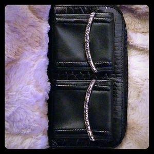 Brighton zip around wallet